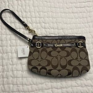 Coach wristlet new with tags!